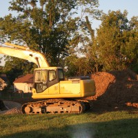 Excavator in Southern Maryland