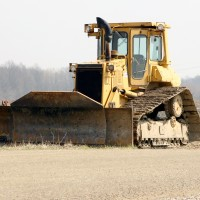 bulldozer from Southern Maryland excavator