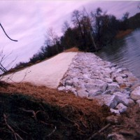 Seawall Riprap in Southern Maryland