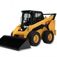 Skidsteer used in Southern Maryland for grading